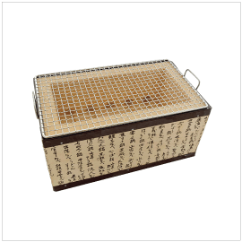 Bbq konro grill with net screen item number 96835 package 33 3cm
