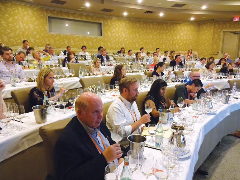 "A sell-out seminar on ""Sake's Secondary Styles"", a study beyond the currently popular Ginjo brew."