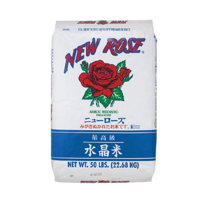 NEW ROSE RICE | Item Number: 20105 | Package: 50lbs