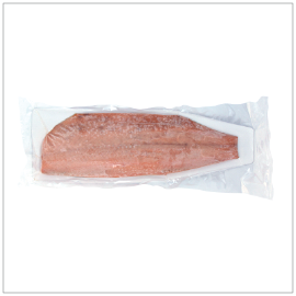 SUPER FROZEN SMOKED CHUM SALMON FILLET | Item Number: 74088 | Package: About 2 lbs | Origin: Hokkaido, Japan