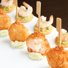 Frozen Shrimp Swirl Pops