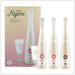 YUKI NIGORI GIFT BOX | Item Number: 2840 | Package: 3 x 375ml | Origin: California