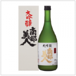 NANBU BIJIN DAIGINJO | Item Number: 8103 | Package: 6/720ml | Origin: Iwate, Japan