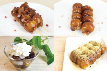 Savory Sweets: Mitarashi Dango 4 Ways