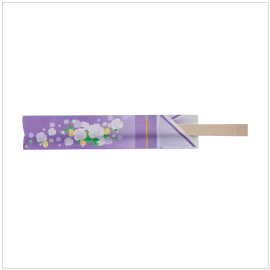 6. Disposable Chopsticks – Kimono | Item Number: 92710| Package: 100/ 20 PR (24cm)