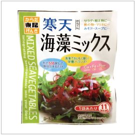 KANTEN KAISO MIX SALAD | Item Number: 64147 | Package: 10/0.28oz | Origin: Japan