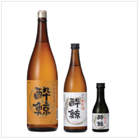 SUIGEI Tokubetsu Junmai | Item Number: 6146 (1.8L), 6453 (720ml), 6477 (300ml) | Package: 6/1.8L, 12/720ml, 12/300ml | Origin: Kochi, Japan | Alcohol Content: 15% | Nihonshudo: +6.5 | Acidity: 1.5