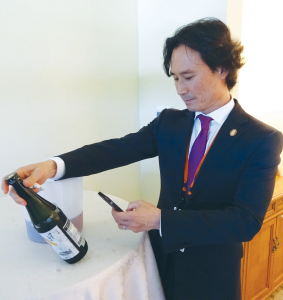 Yoon Ha, Master Sommelier & Beverage Director at Benu Restaurant in San Francisco, a Three-Michelin Star French-Asian inspired restaurant, manages the largest selection of fine Jizake among non-Japanese restaurants.