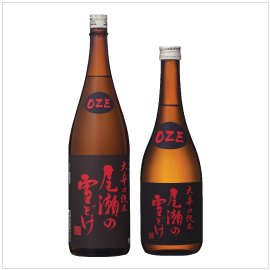 OZENO YUKIDOKE OHKARAKUCHI JUNMAI | Item Number: 5094 (1.8L), 8222 (720ml) | Package: 6/1.8L, 12/720ml | Origin:  Gunma, Japan | Alcohol Content: 16-17% | Nihonshudo: +10.0 | Acidity: 1.8