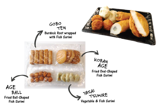 FROZEN ODEN SET WITHOUT SOUP | Item Number: 70275 | Package: 6/21.16oz | Origin: Thailand
