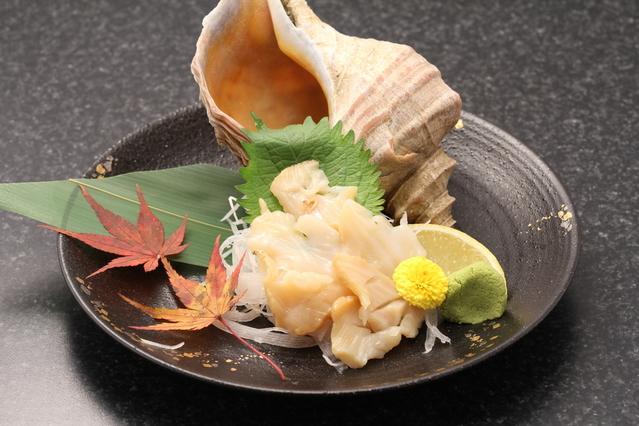 Tsubugai Sashimi
