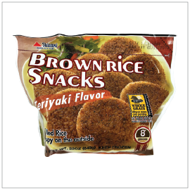 FROZEN RICE PATTY TERIYAKI | Item Number: 41121 | Package: 12/1.4lbs (8pcs x 80g) | Origin: USA