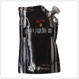 TUBE KURO NERI GOMA, KUKI   Item Number: 50781   Package: 12/2.2lbs   Origin: Japan
