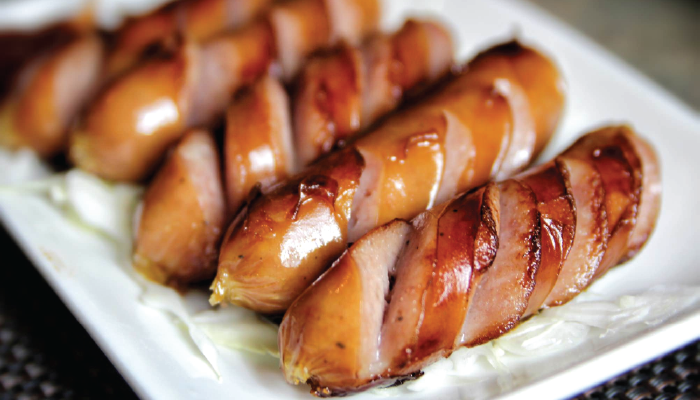 FROZEN KUROBUTA SAUSAGE | Item Number:76852 | Package: 8/2.75lbs (40pcs) | (Image Photo)