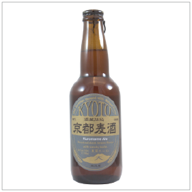 KYOTO KUROMAME ALE | Item Number: 2996 | Package: 20/11.15 floz (300ml) | Origin: Kyoto, Japan