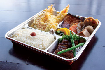 Take Out Bento In Time of COVID-19