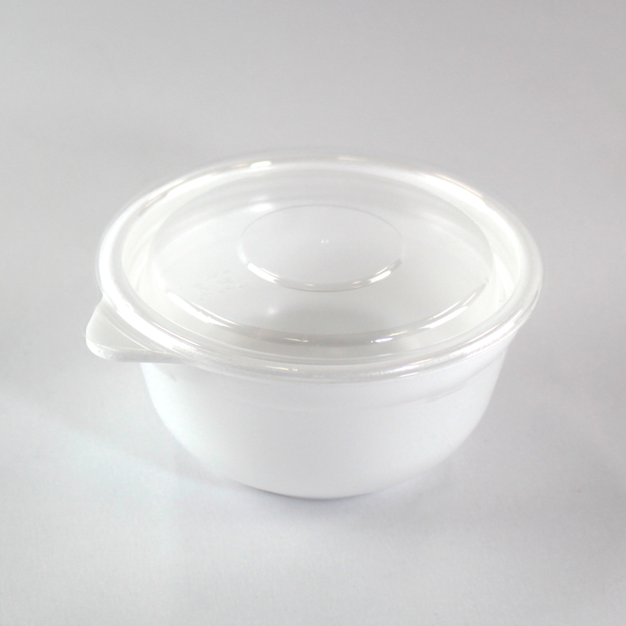 Disposable Soup Cup and Lid